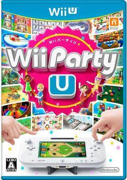 Wii Party U Box art