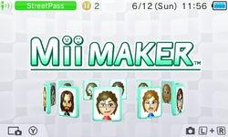 Mii Maker Diorama