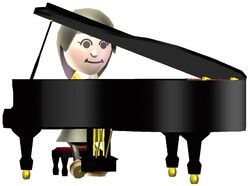 Wii Music Piano