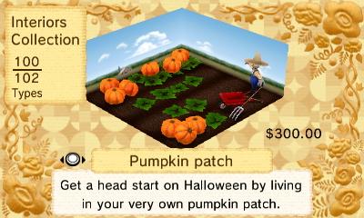 Pumpkin Patchi Interior