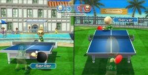 Table tennis wsr serve