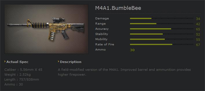 Ava m4a1bubblebee