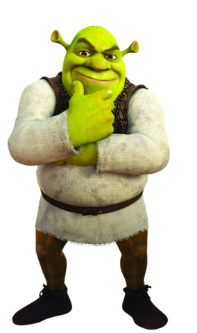 File:Shrek transparent.png