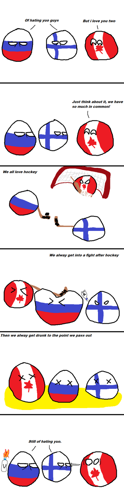 Country-balls-canada-can-t-find-true-friend