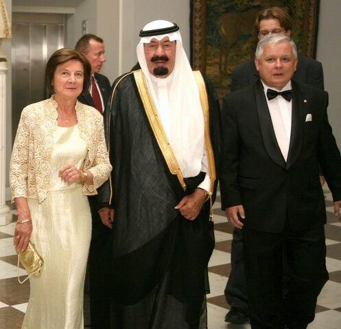 File:Wizyta króla Arabii Saudyjskiej Abdullaha bin Abdulaziz Al Saud w Polsce 2007.jpg