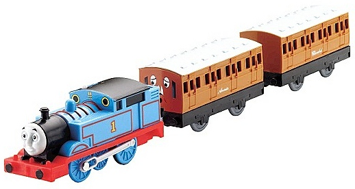 File:TrackMaster (Fisher-Price) Thomas with Annie and Clarabel.jpg