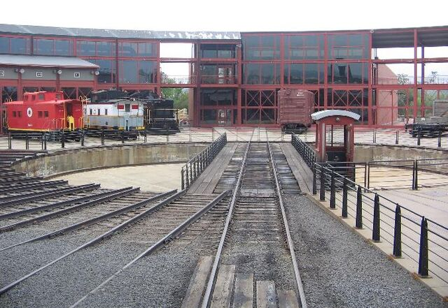 File:Steamtown NHS Turntable.JPG
