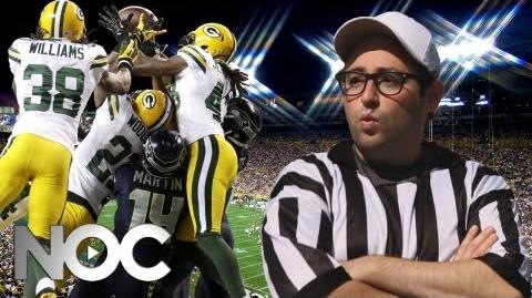 "NFL Replacement Refs Music Parody - Flo Rida ""Whistle"" - The NOC"