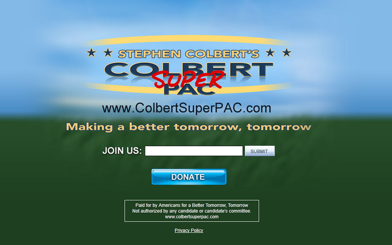 Stephen Colbert SuperPac