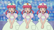 Three Nurse Joy