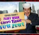 Stephen Colbert's Fleet Week Clean Time Fun Zone