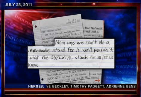 Letter superpac