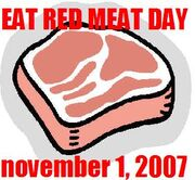Eatredmeatday
