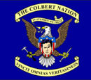 Colbert Nation Flag
