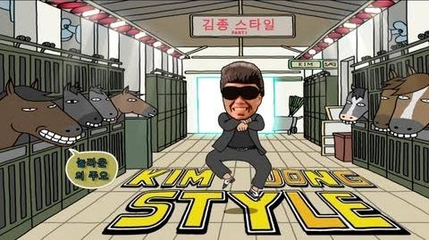 PSY - GANGNAM STYLE (강남스타일) PARODY! KIM JONG STYLE! Key of Awesome 63