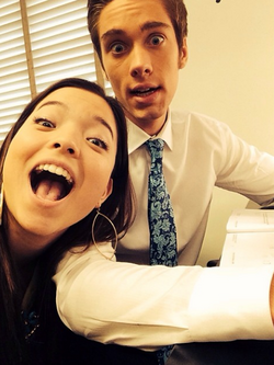 Olivia and Aiden selfoe