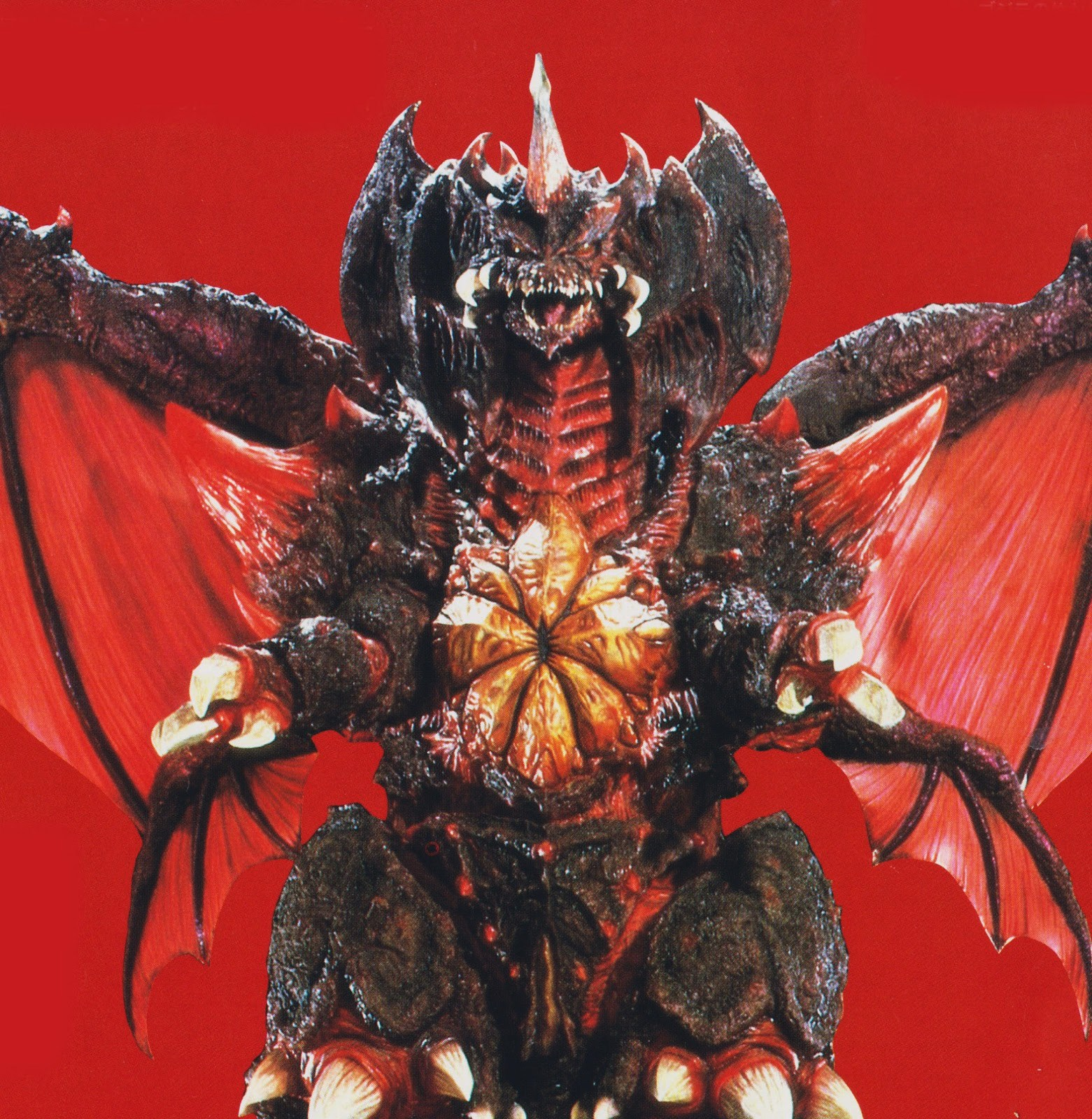 GVD - Destroyah in Red Background