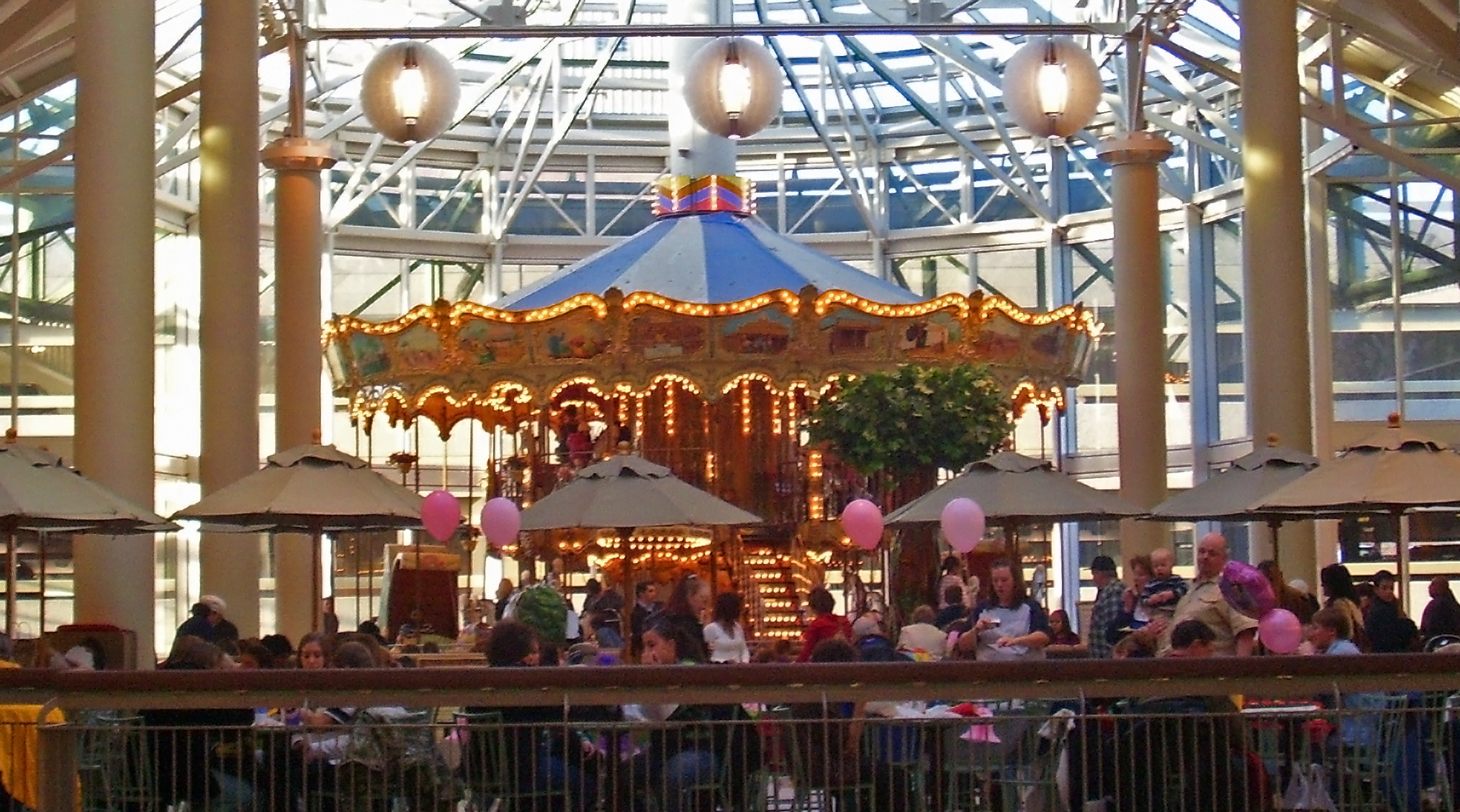 Danbury Fair Mall carousel