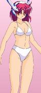 Crueltear Official Artwork - Bikini edit by hamtaro1113