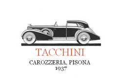 Tacchini advertising 1937