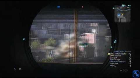 Sniper rifle AM50