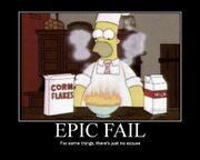 Epic fail homer
