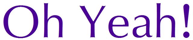 File:Oh Yeah! Logo.png