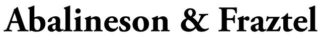 File:Abalineson & Fraztel Logo.png