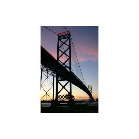 <b>Ambassador Bridge</b>, one of the landmarks in the city that CenturyGoji destroyed during his Detroit rampage.