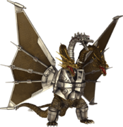Mecha-King Ghidorah PS4