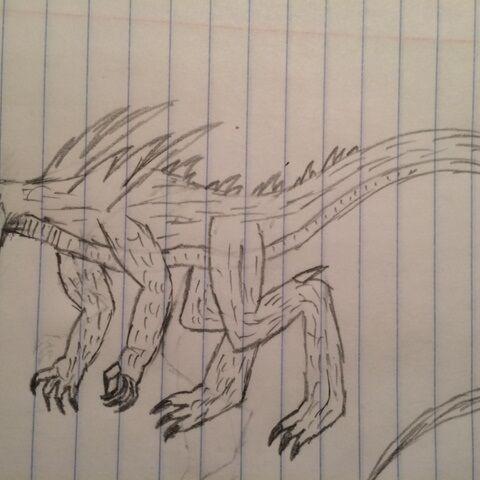 Original Macrosaurus art