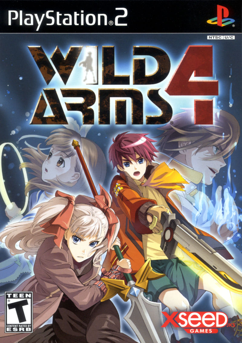 Cover Wild Arms 4 US