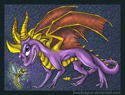 Spyro the dragon by DoruDragon-2-