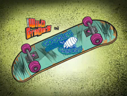 Goggles Shrunk the Grinders Title Card