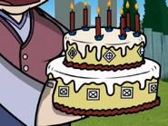 Organic Birthday Cake