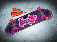 Emo's Mystery Girl Title Card