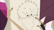 Blowfish Hat Sketch