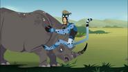 Cheetah Martin and Rhino