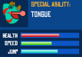 Chameleon's Stats