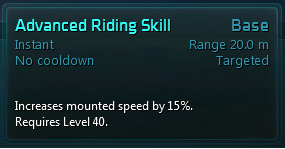 Advanced Riding Skill Tooltip