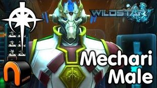 WildStar - Dominion - Mechari Male, Character Creation