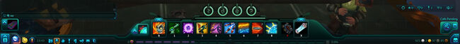 WildStar F2P updated UI actionbar