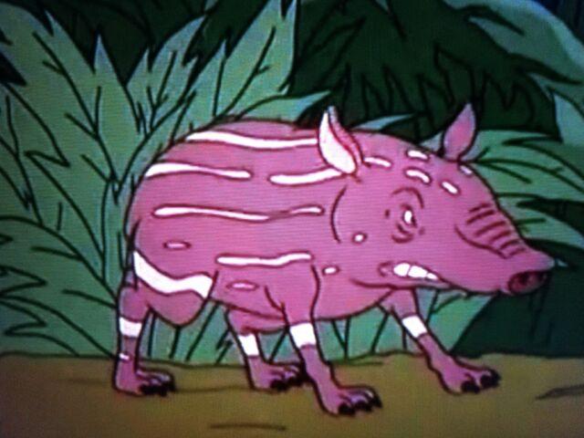 File:Baby Tapir Standing its Ground.JPG
