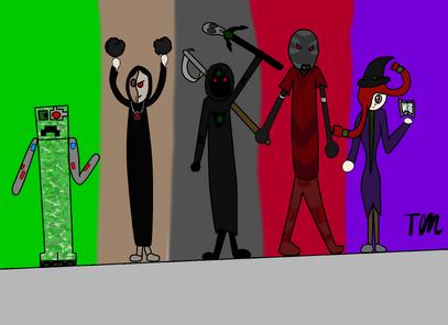 Battle Characters Fanart