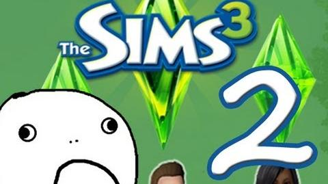 """Sims 3 Let's Play! Episode Two """"Get A Job!"""""""