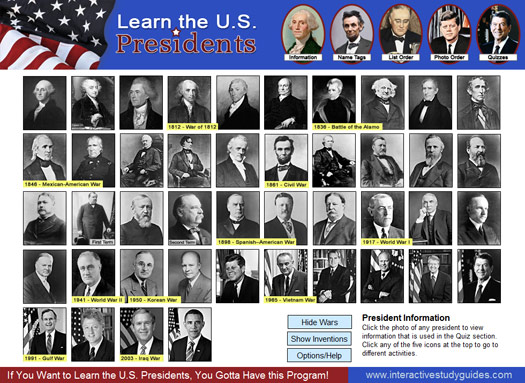Learn-the-u-s-presidents