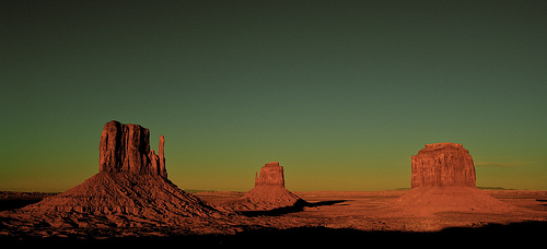 File:Arizona, Down from the Visitor Center at the Navajo Tribal Park.jpg