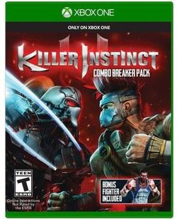 Killer Instinct retail cover art