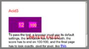 IE6 Acid3 Test