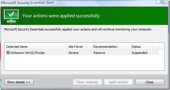 File:Microsoft Security Essentials Success.png